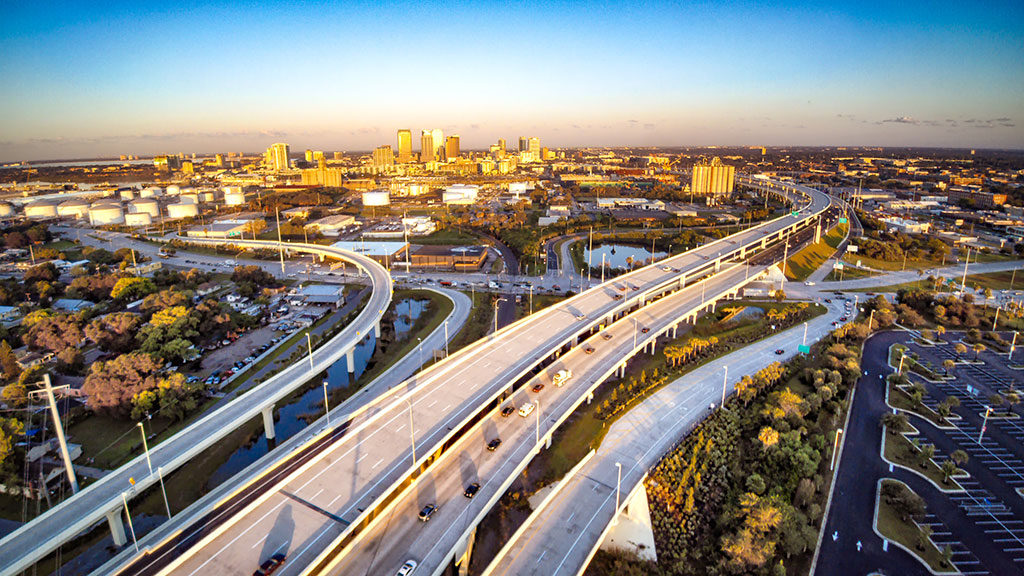 Reversible Express Lanes Tampa Hillsborough Expressway Authority