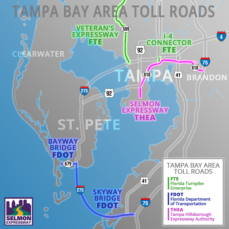 Who Operates And Maintains the Toll Roads in the Tampa Bay