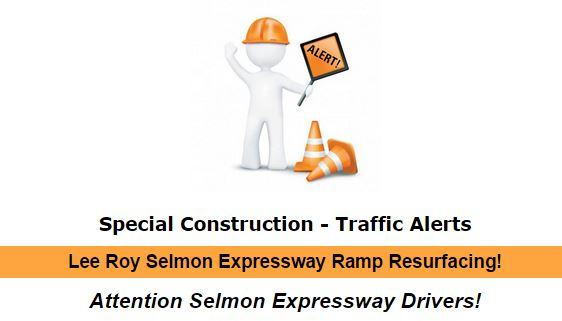 Special Construction- Traffic Alerts!