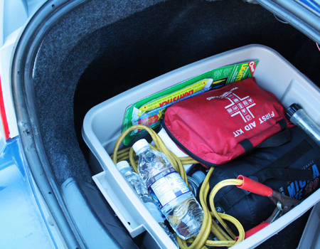Do you have a car emergency kit?