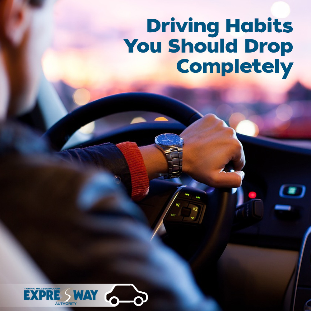 Break These Bad Driving Habits in 2019