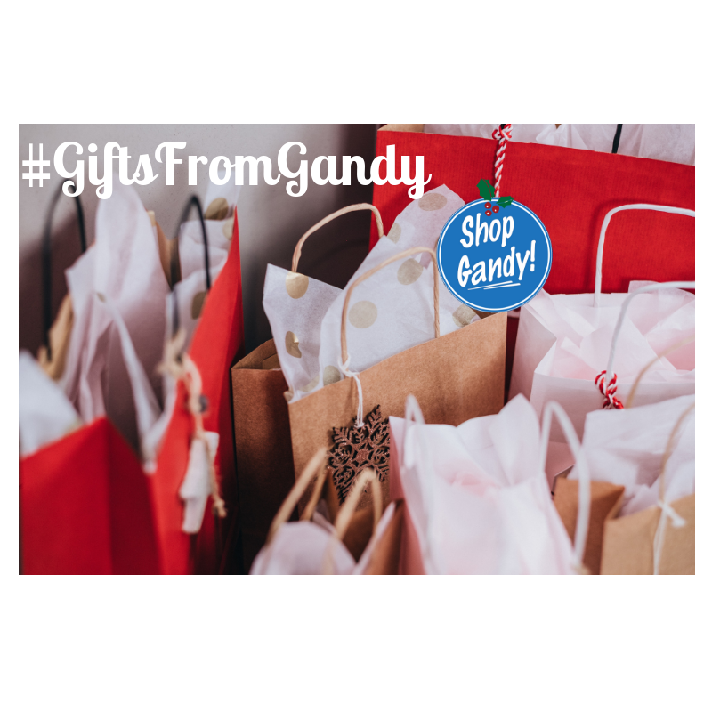 Deck the Halls with #GiftsFromGandy