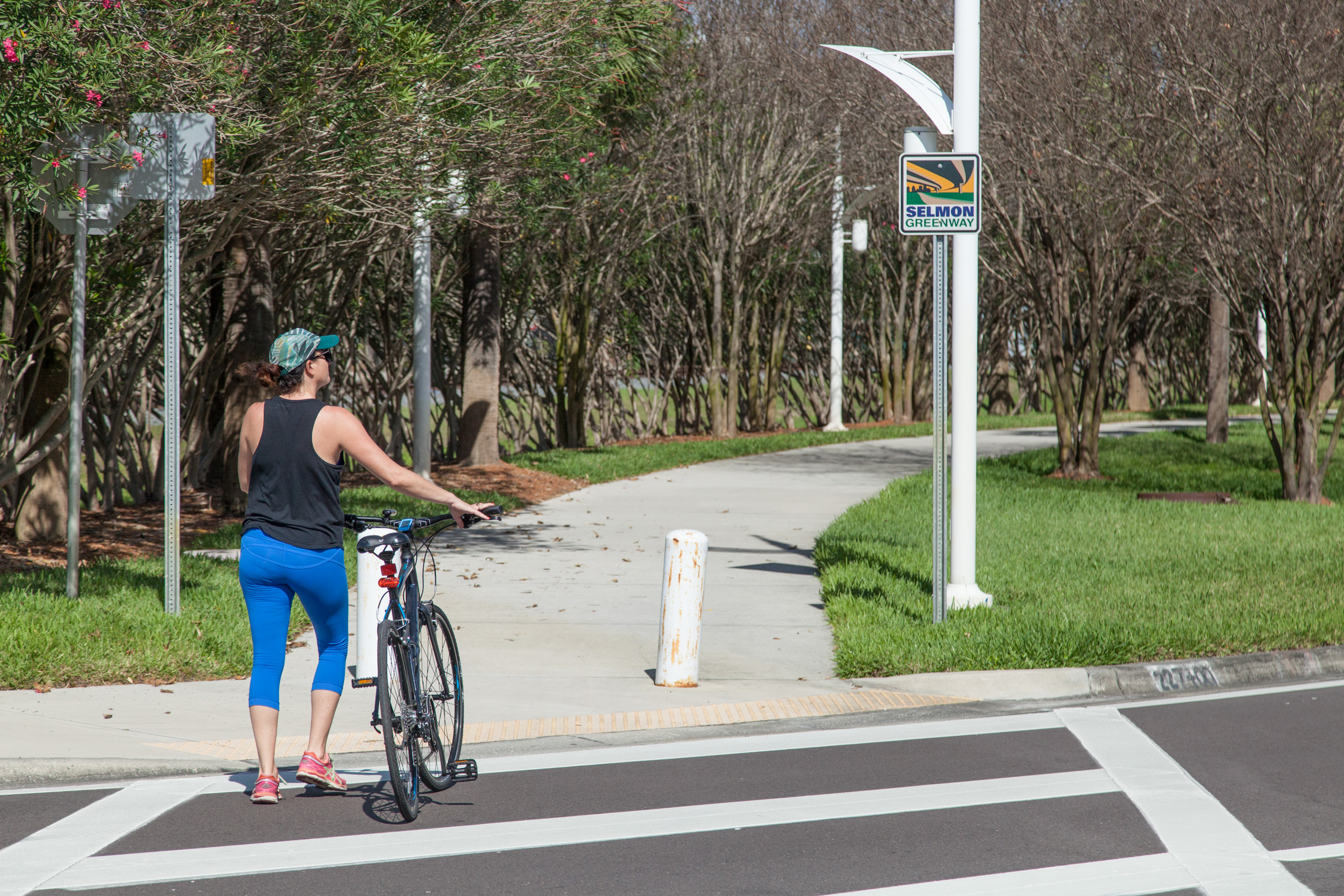 March is Florida Bicycle Month! Bike the Selmon Greenway