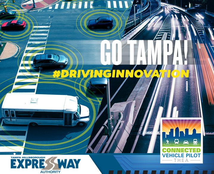 THEA Connected Vehicle Pilot Aims to Improve Driving in Tampa Bay
