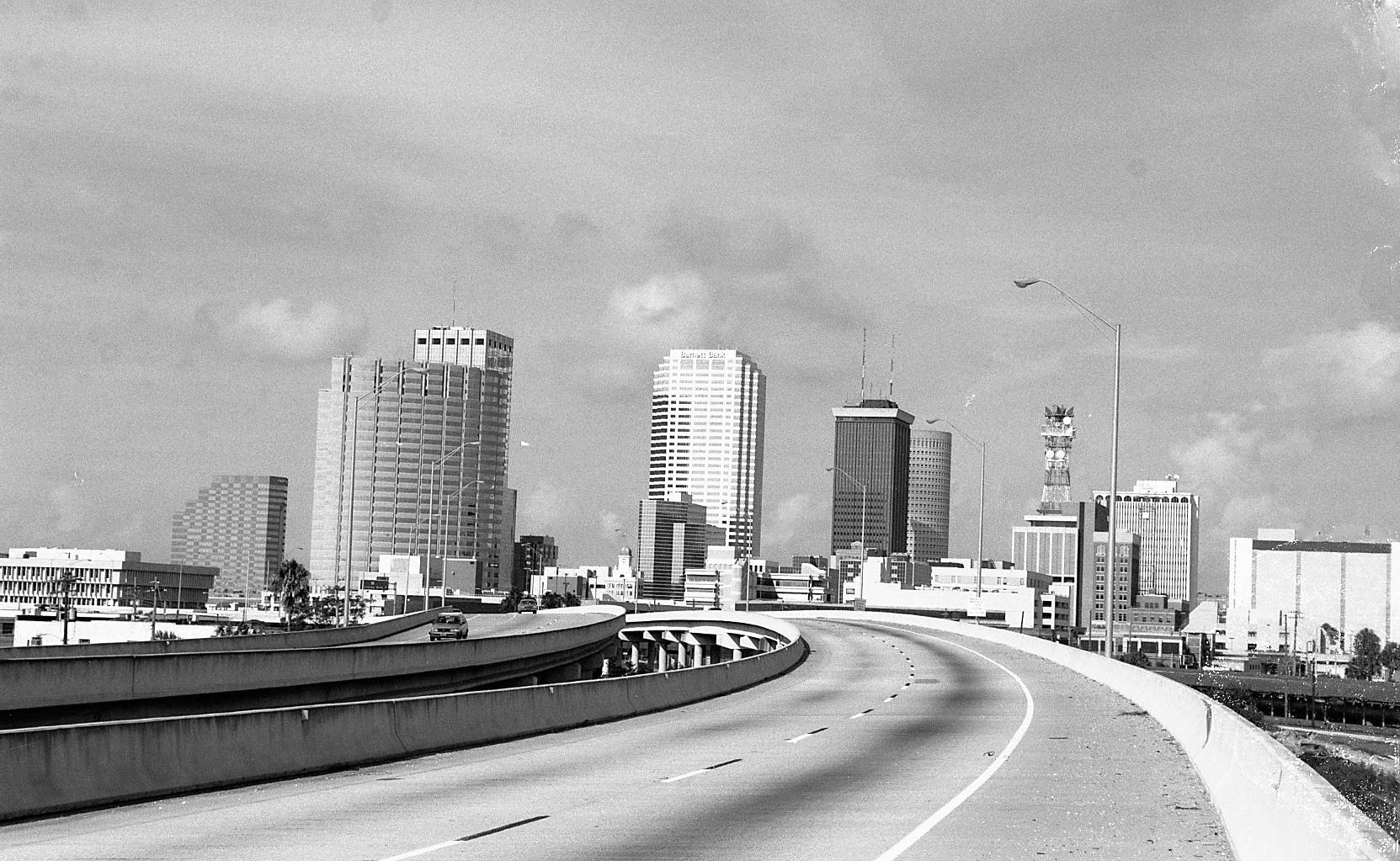 A Look Back on Tampa Bay- The Selmon Expressway and the Meridian