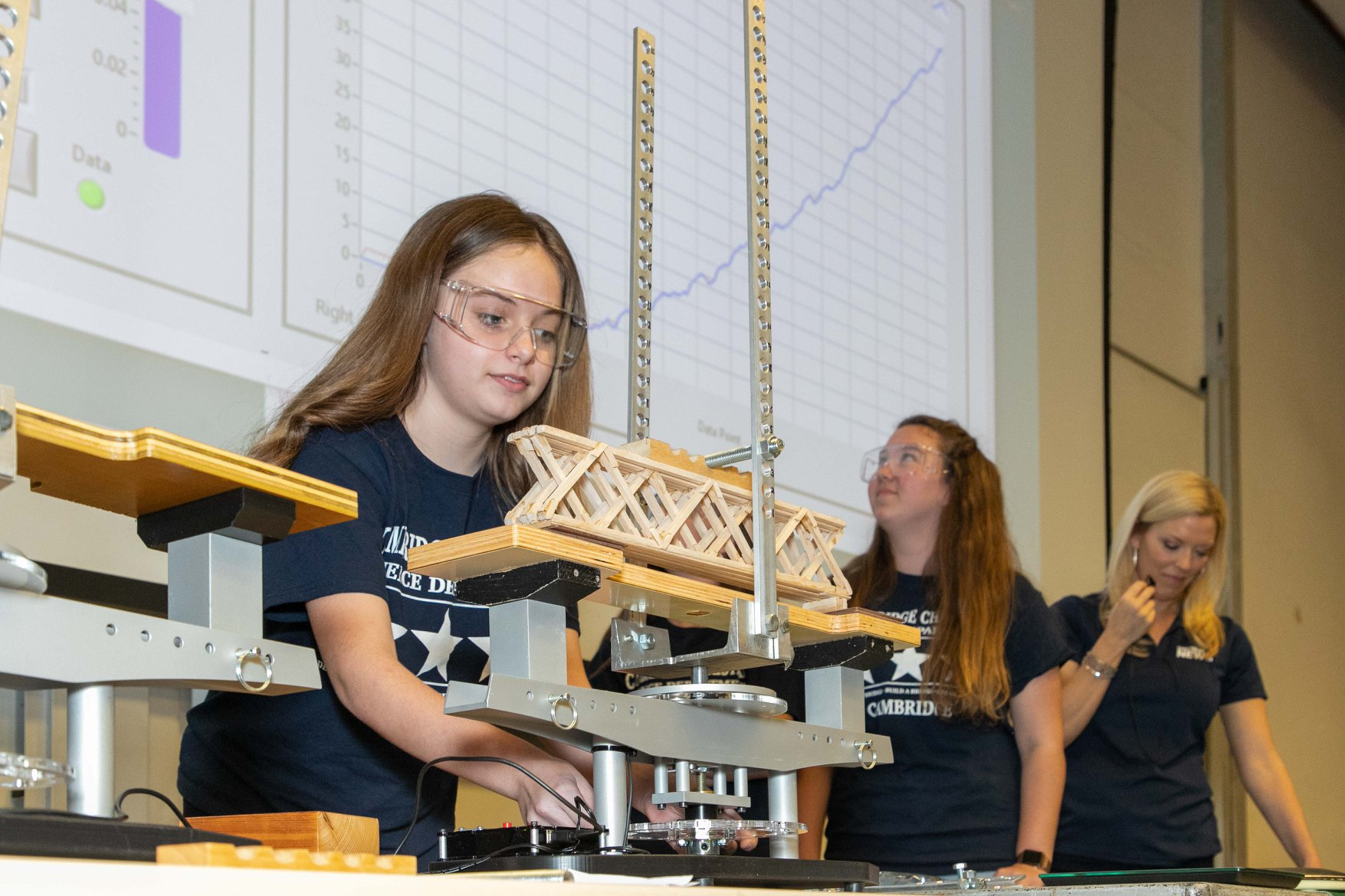 42 Teams Competed in the USF-Selmon Balsa Bridge Design Competition. Winners Announced