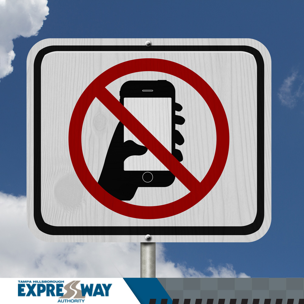 No Texting While Driving: It's the Law!