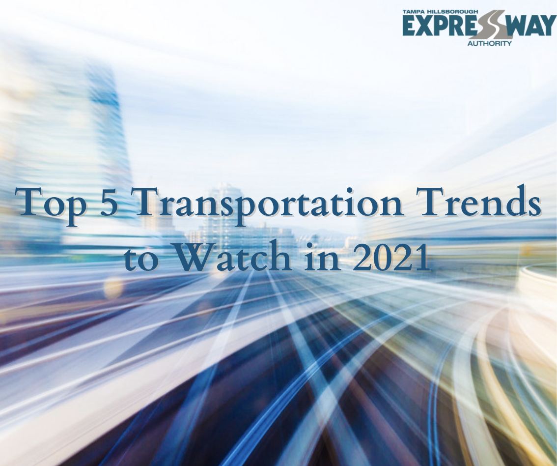 Top 5 Transportation Trends to Watch in 2021