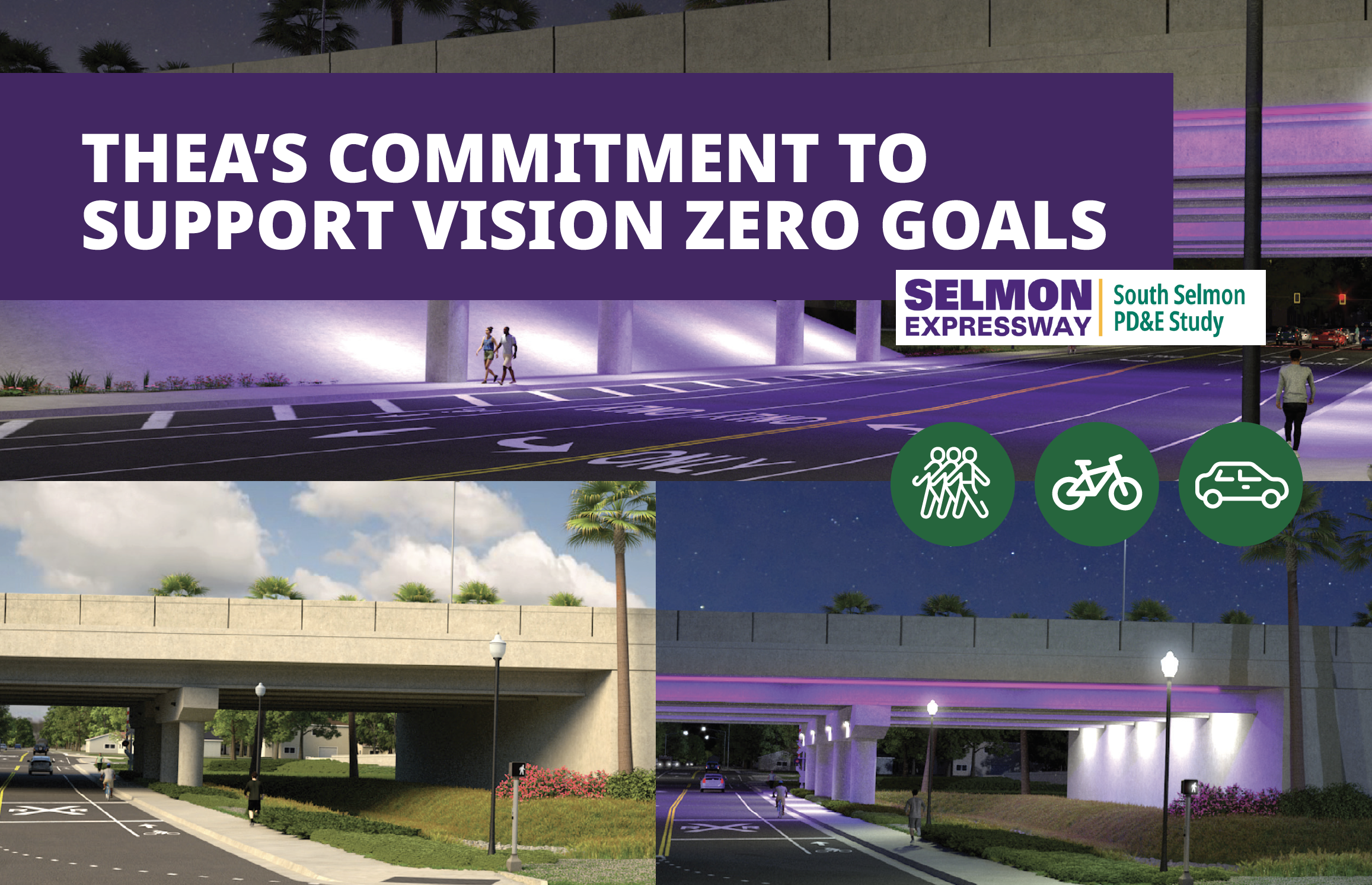 THEA Cares: Implementing Vision Zero Goals for Pedestrian Safety